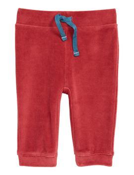 Pocket Pet Velour Pants by Mini Boden