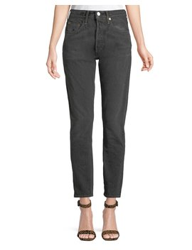 501 High Rise Skinny Ankle Jeans by Levi's Made & Crafted