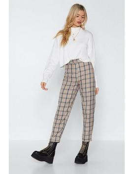 Let's Take A Rain Check Tapered Pants by Nasty Gal