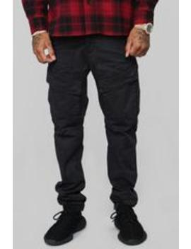 "Omar 32"" Cargo Pants   Black by Fashion Nova"