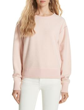 Brushed Inside Out Terry Sweatshirt by Rag & Bone/Jean