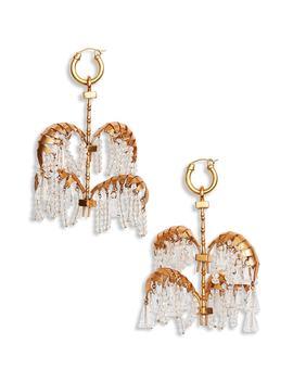 Genealogy Xl Palm Earrings by Ellery