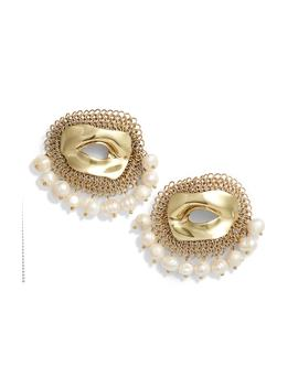 Pedigree Xl Eye Earrings by Ellery