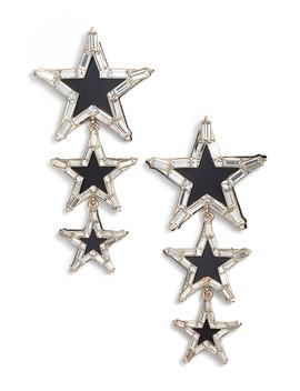 Layered Star Earrings by Stella + Ruby