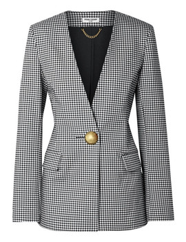 Gingham Cady Blazer by Opening Ceremony