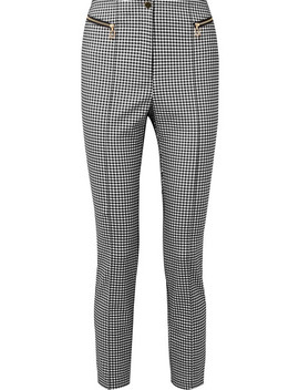 Gingham Cady Skinny Pants by Opening Ceremony