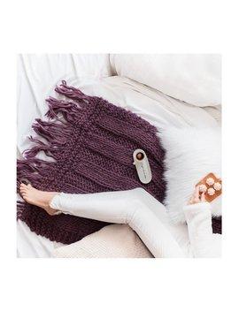Merino Wool Blanket. Double Rib Stitch, Fringes Wool Blanket, Chunky Knit Blanket, Wool Bed Runner, Sofa Throw, Super Thick Handspun Merino by Etsy