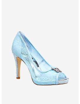 Disney Cinderella Lace Slipper Heels by Hot Topic