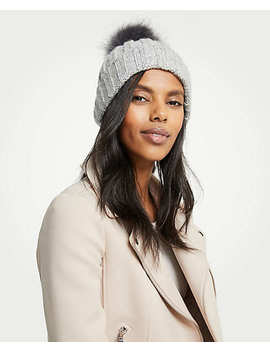 Ribbed Knit Hat by Ann Taylor