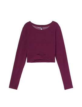 Twist Long Sleeve Crop by Victoria's Secret