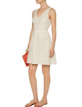 Pruitt Crocheted Cotton Mini Dress by Joie