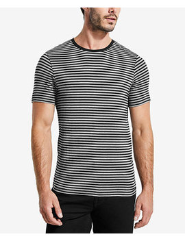 Men's Stone Striped T Shirt by Guess