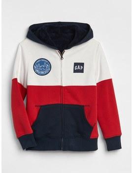 Cozy Logo Hoodie Sweatshirt by Gap