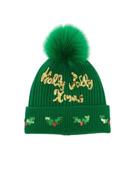 Sequin Christmas Beanie by Forever 21