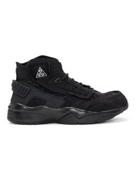 黑色 Nike Acg 版 Air Mowabb 高帮运动鞋 by Comme Des GarÇons Homme Plus