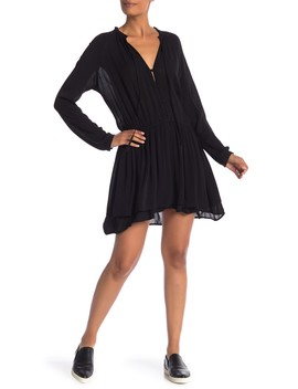 Kingsley Layered Button Front Dress by Rails