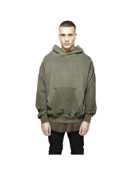 Phanteen Kanye Style Man Hoodies Oversize Loose Drop Shoulder Solid Color Pullover Hiphop Couple Sweatshirt Fashion Men Clothing by Phanteen