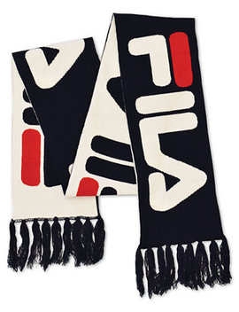 Reversible Jacquard Scarf by Fila