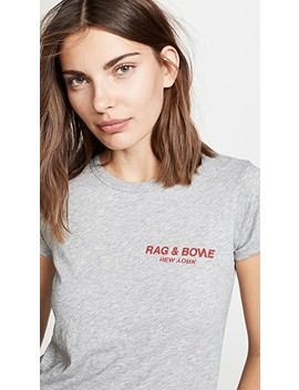 Rb Logo Tee by Rag & Bone/Jean