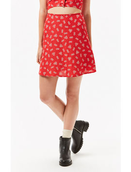 Volcom Back N The Daisy Skirt by Pacsun