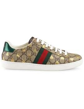Ace Gg Supreme Sneaker With Bees by Gucci