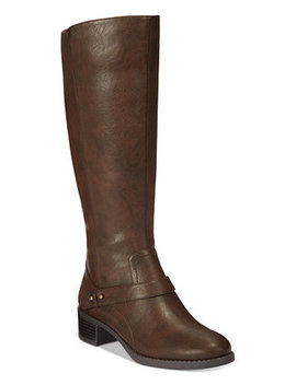 Jewel Wide Calf Riding Boots by Easy Street