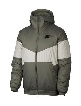 Logo Embossed Bomber Jacket by Nike