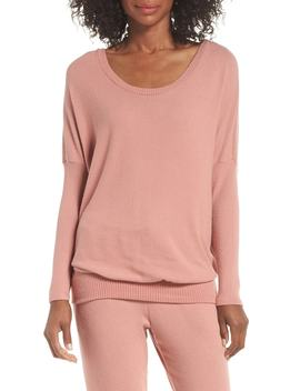 'cozy Time' Slouchy Long Sleeve Tee by Eberjey