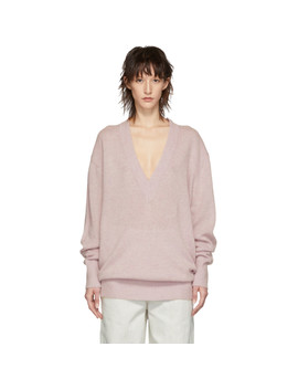 Pink Cashmere Cadzi Sweater by Isabel Marant