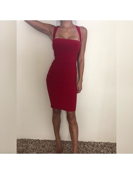 Stunning Red Cocktail Dress by Laundry By Shelli Segal