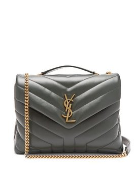Monogram Quilted Leather Bag by Matches Fashion