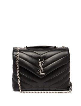 Lou Lou Small Quilted Leather Shoulder Bag by Matches Fashion