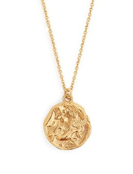 Capricorn Gold Plated Necklace by Matches Fashion