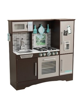 Kid Kraft Culinary Kitchen   Espresso by Kid Kraft