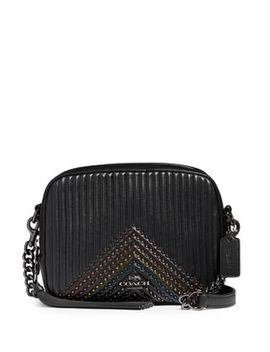 Ny Quilted Camera Leather Crossbody Bag by Coach