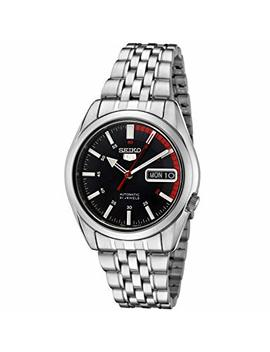 Seiko Men's Analogue Automatic Watch With Stainless Steel Strap Snk375 K1 by Seiko