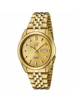 Seiko Men's Snk366K–Wristwatch–Gold by Seiko