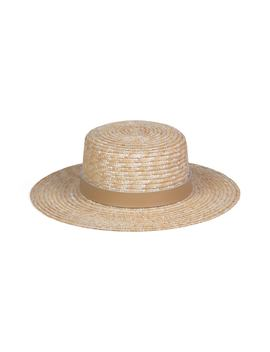 Spencer Leather Band Straw Hat by Lack Of Color