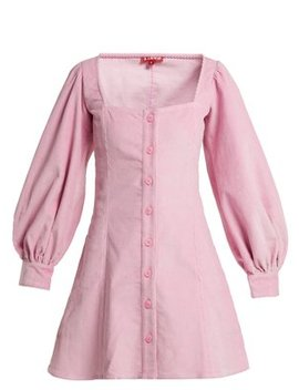 Chandler Corduroy Mini Dress by Matches Fashion