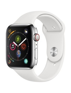 Apple Watch Series 4 Gps + Cellular, 44mm Stainless Steel Case With Sport Band by Apple
