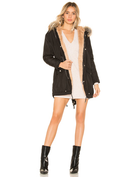 Posh Faux Fur Parka by By The Way.