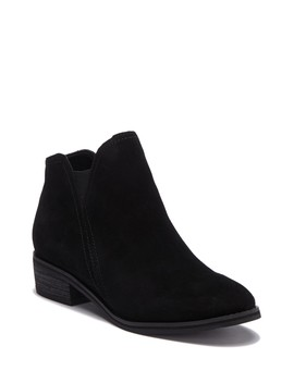 Lanka Waterproof Suede Ankle Bootie by Blondo