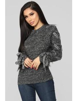 Eyes On Me Sweater   Black by Fashion Nova