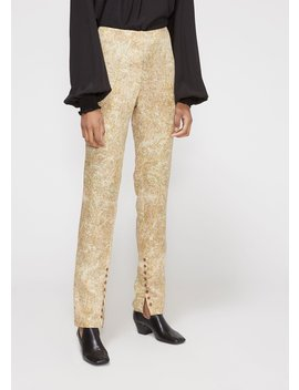 High Waist Buttoned Pant by Lemaire