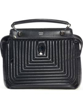 'dotcom Click' Quilted Leather Satchel by Fendi