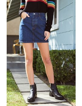 John Galt Crosby Denim Skirt by Pacsun