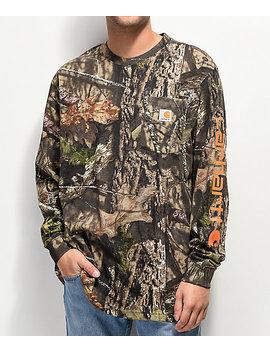 Carhartt Workwear Mossy Oak Long Sleeve T Shirt by Carhartt