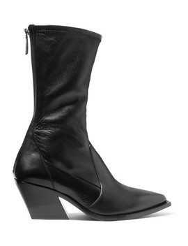 Leather Sock Boots by Givenchy