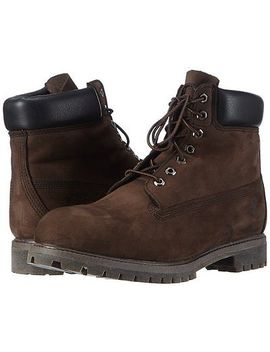 Men's Shoes Timberland 6 Inch Premium Waterproof Boots 10001 Dark Brown *New* by Timberland