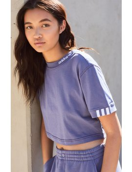 Adidas Coezee Cropped T Shirt by Pacsun